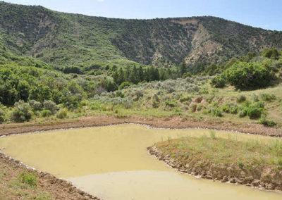 Davis Draw pond